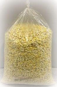 Färdigpoppade popcorn 160 liter