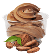 Frozen yoghurt choklad