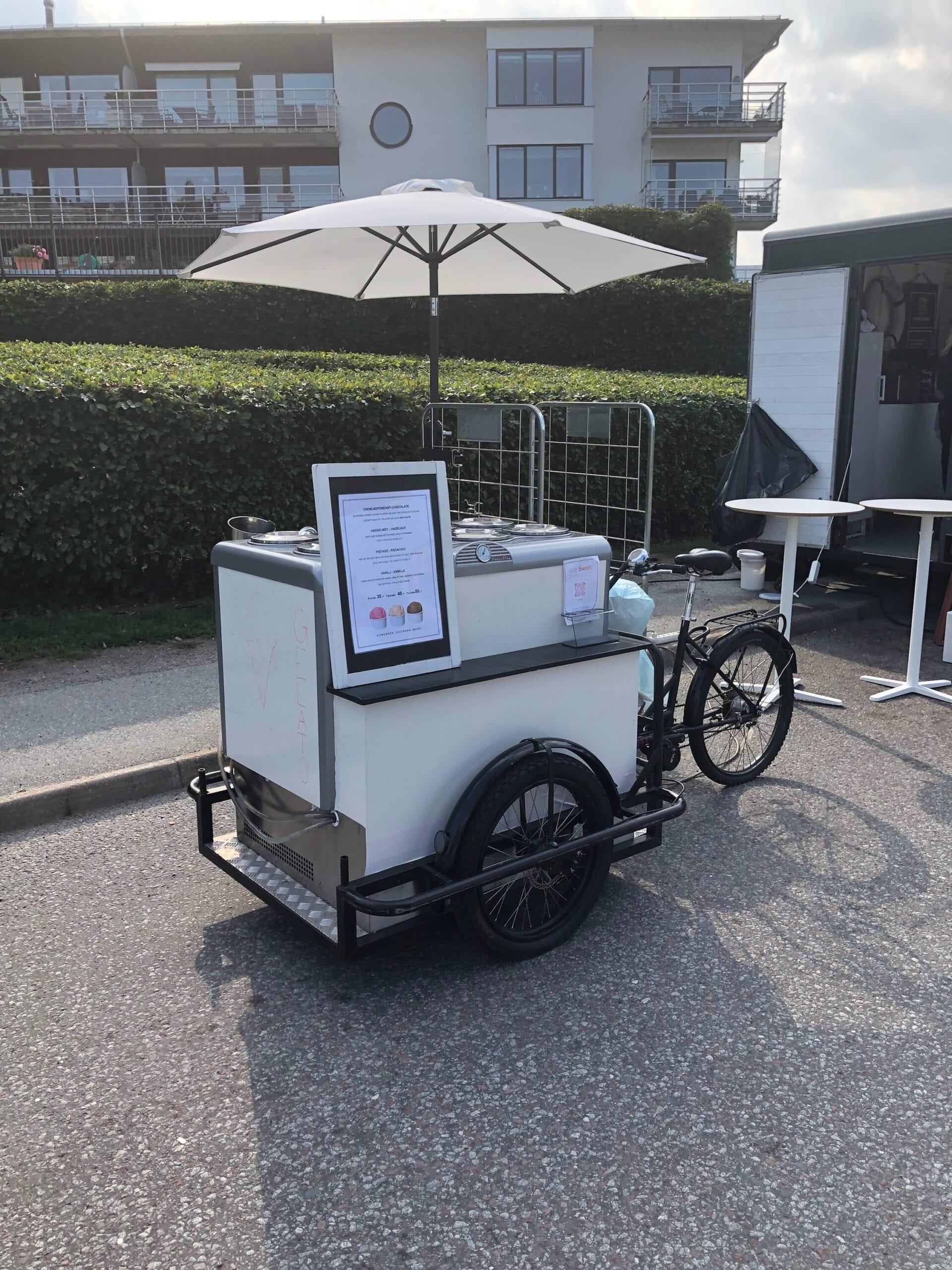 glassvagn-glasscykel