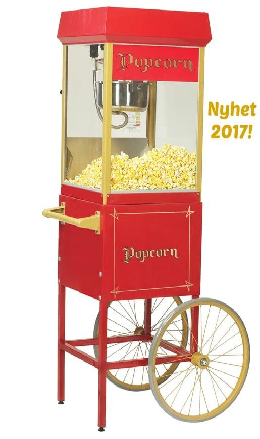 Hyra-popcornmaskin-med-vagn-8-oz