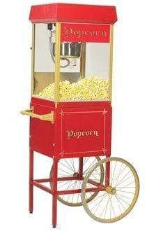 Hyra popcornmaskin med vagn Göteborg
