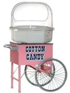 Hyra sockervadds vagn sockervaddsmaskin