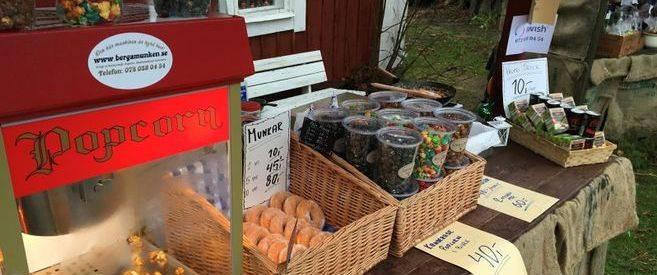 Julmarknad-branda-mandlar-maskin