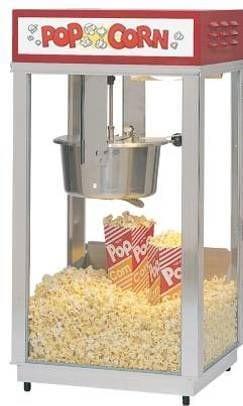 Kopa-popcornmaskin-Super-88-med-ljusskylt