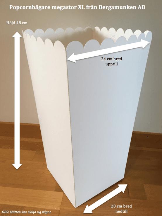 Popcorn-bagare-megastor-XL