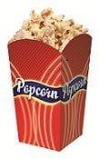 Popcornbägare liten