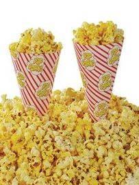 Popcornstrutar-popcornmaskin