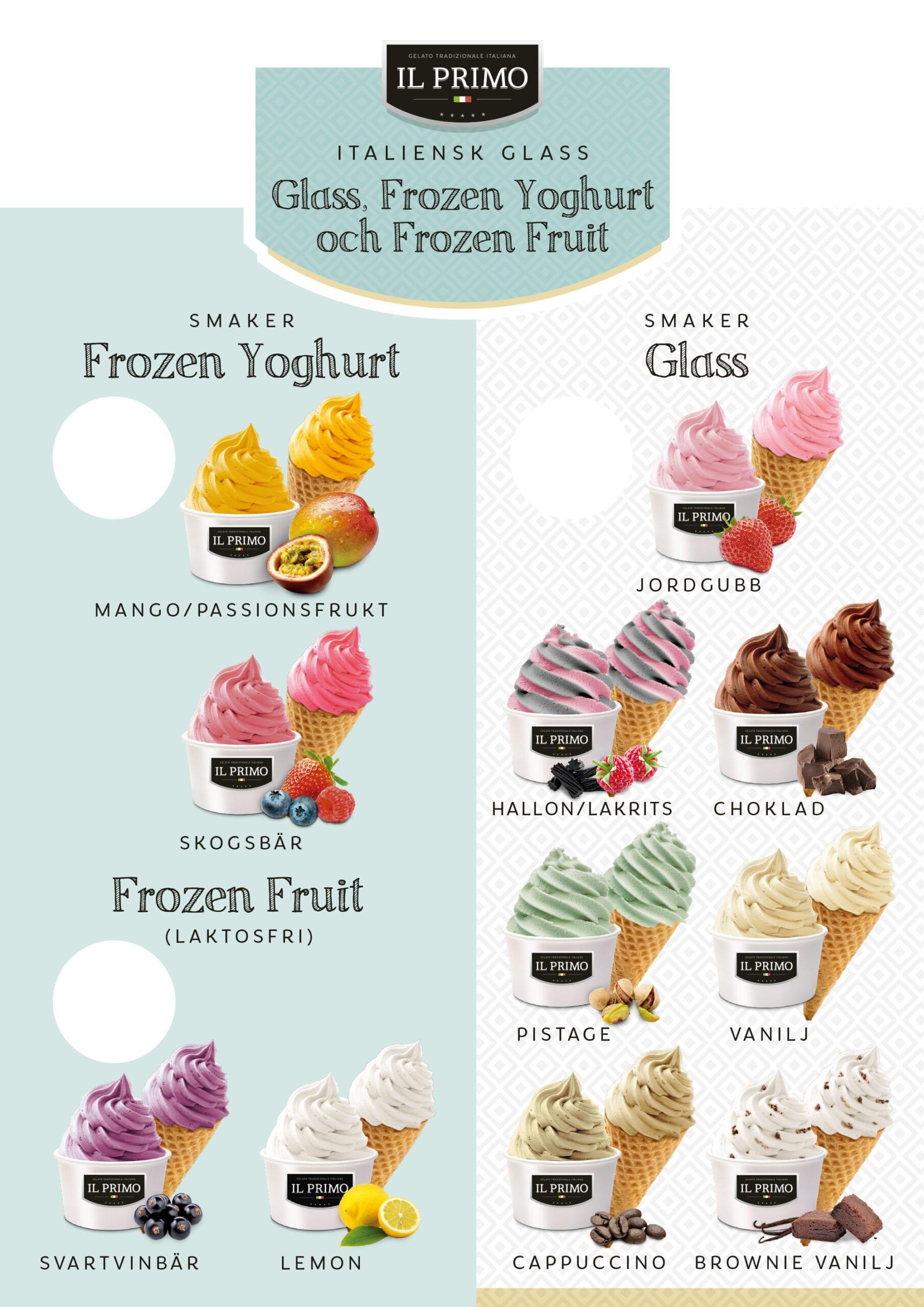 Smaker glass Malmö