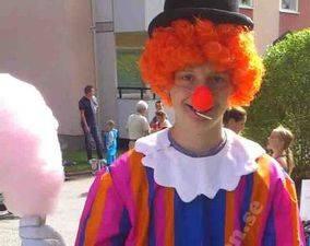 Sockervadd-med-clow-bergamunken