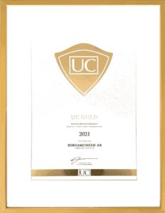 UC Guld Bergamunken AB 2021