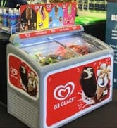Hyra frysbox vanlig för glass i Malmö
