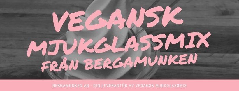 Vegans mjukglassmix vegan mjukglass